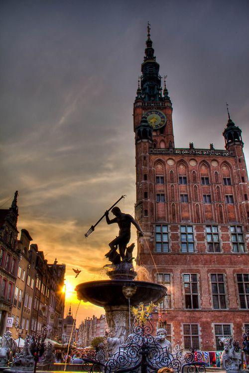 مدينة غدانسك فى بولندا