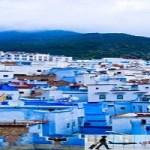 جوله سياحية في مدينة شفشاون في المغرب