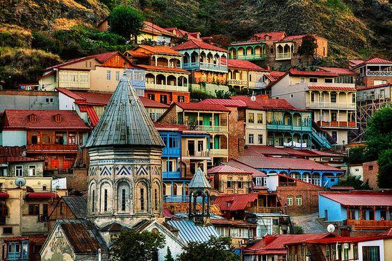 البلدة القديمة في تبليسي