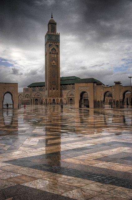 مسجد الحسن الثانى
