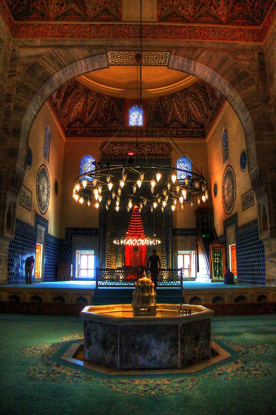 مسجد بورصة الاخضر