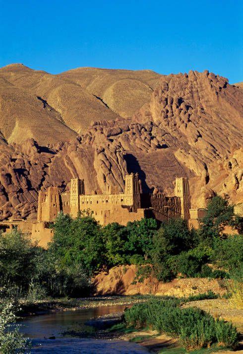 وادي دادس المغرب