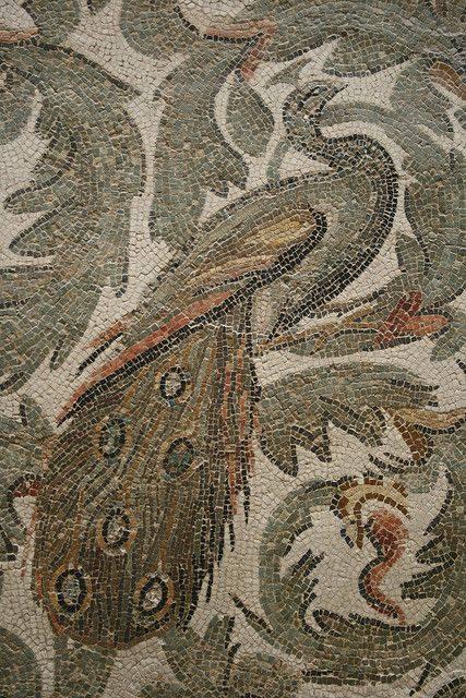 فن الفسيفساء في متحف باردو الوطني