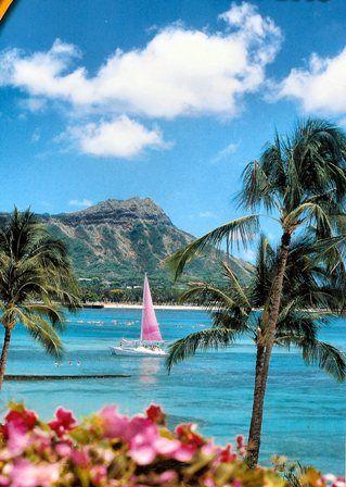 الابحار في هاواي