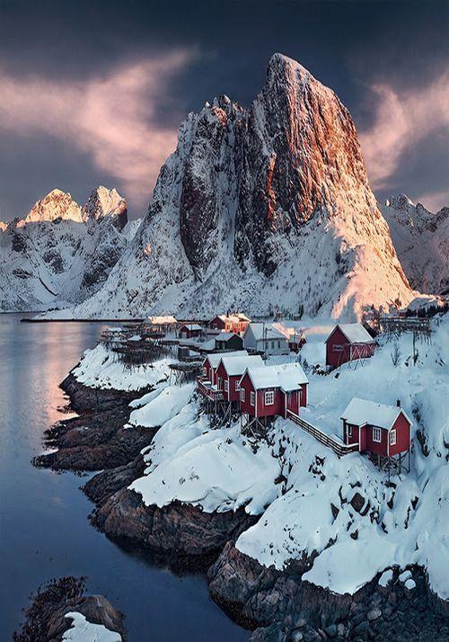 كابينة الصياد بالنرويج