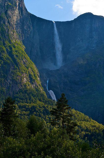 Mardalsfossen Waterfall