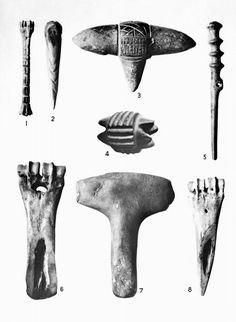 أدوات مصنوعة من عظام الحيوانات