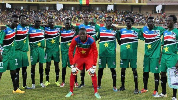 فريق كرة القدم السودانى