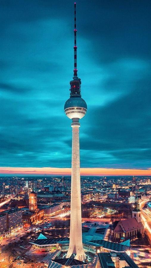 برج التليفزيون فى برلين