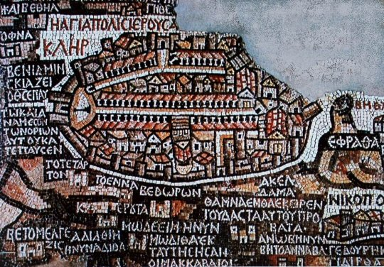 خريطة مادبا