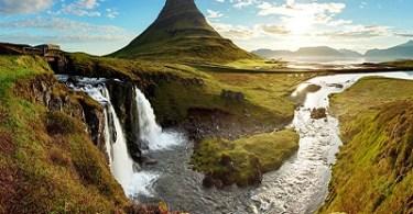 شلالات ايسلندا
