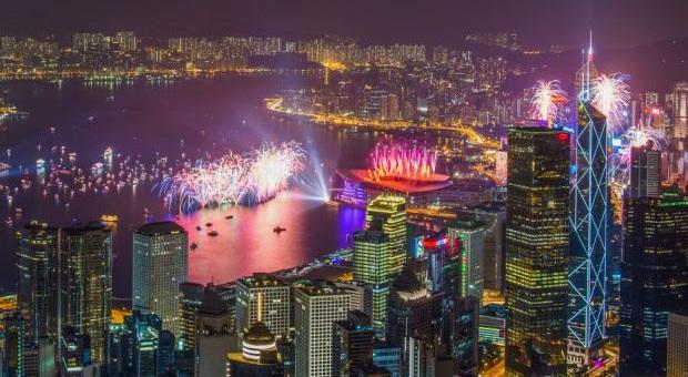 ليلة رأس السنة في هونج كونج