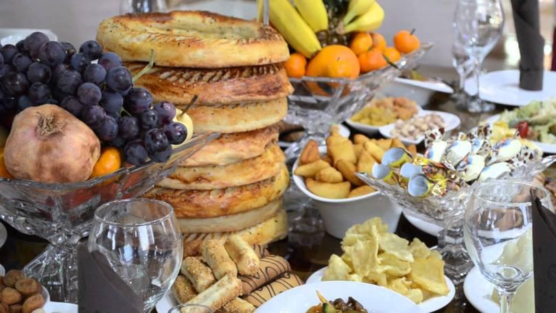 الأكل القيزغيزستان