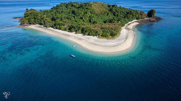 The island of Nosy be Madagascar