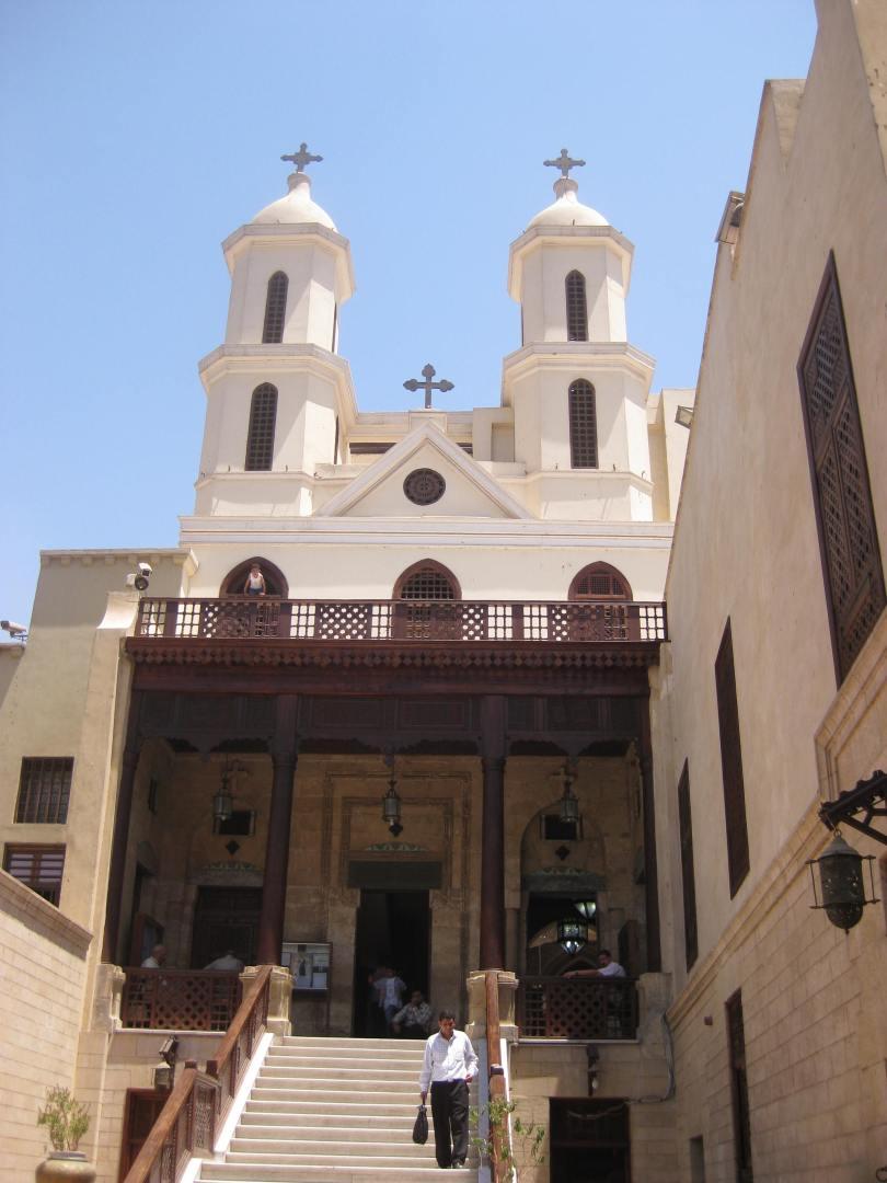 الكنيسة المعلقة