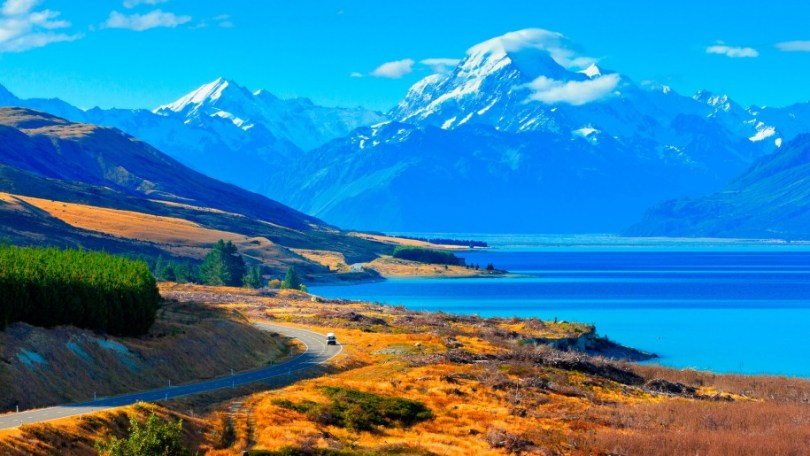 بحيرة Pukaki