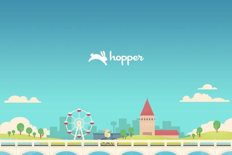 تطبيق Hopper