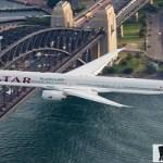 الخطوط الجوية القطرية تطلق أطول رحلة طيران زمنياً في العالم  !