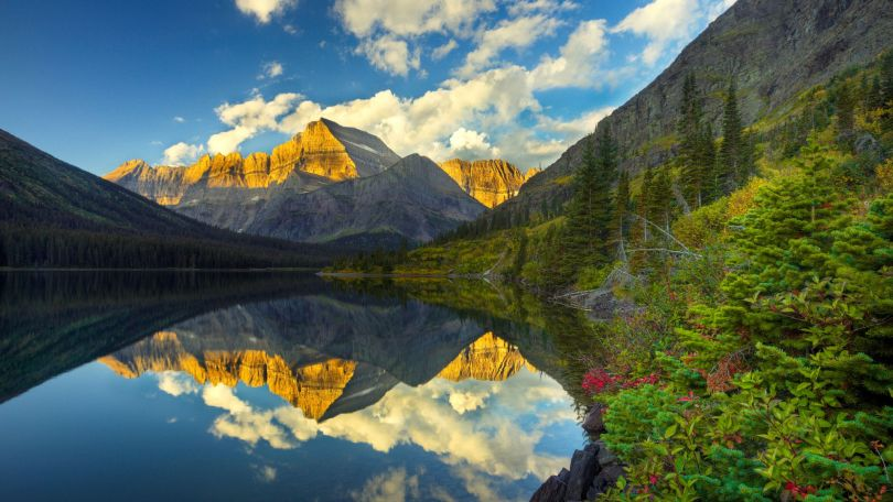 الحديقة الجليدية الوطنية فى مونتانا