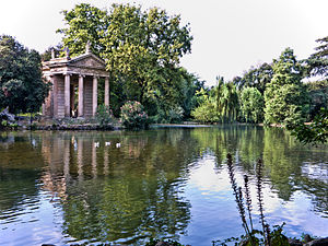 حدائق فيلا بور غيزي