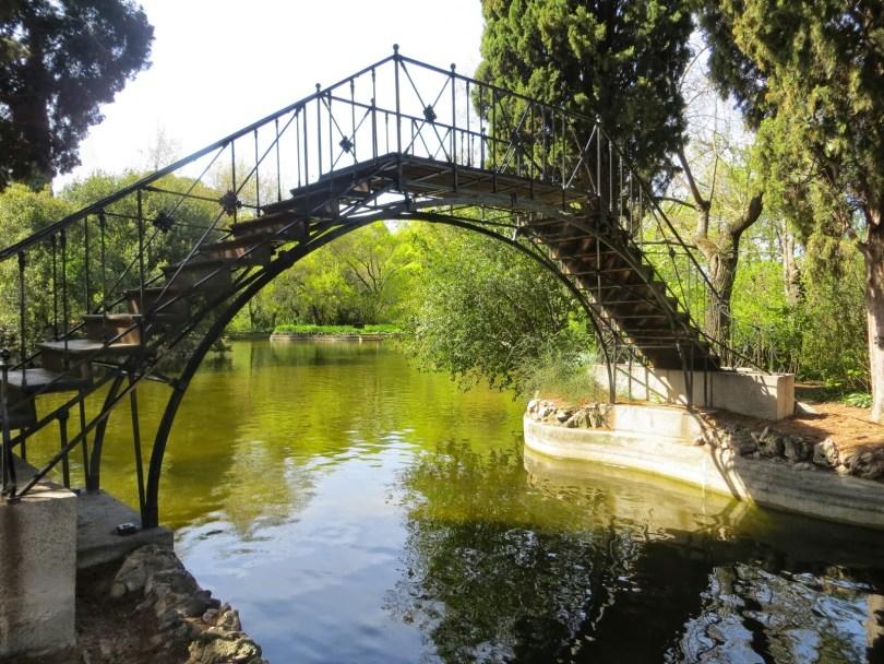 حديقة Parque de el Capricho