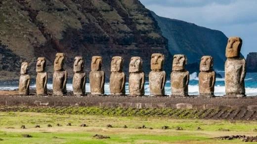 جزيرة القيامة في تشيلي