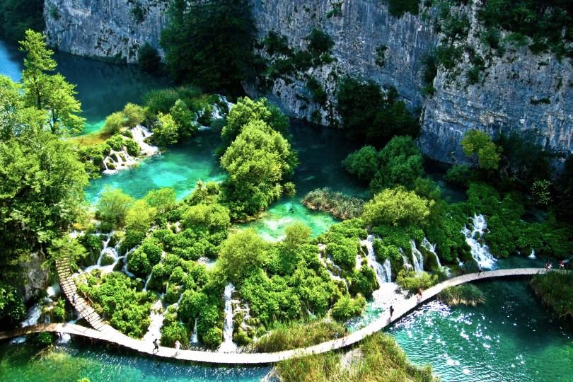 بحيرات الحديقة الوطنية كرواتيا