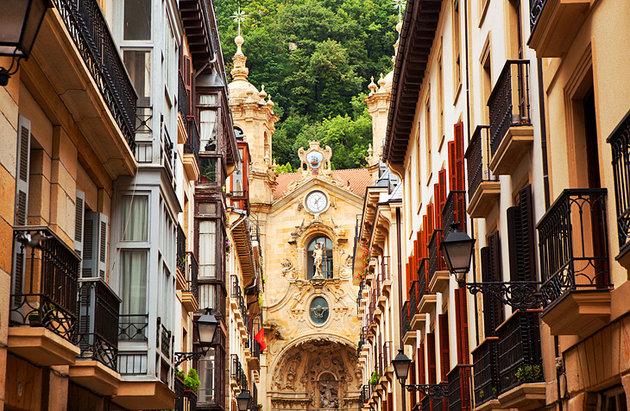 البلدة القديمة Parte Vieja