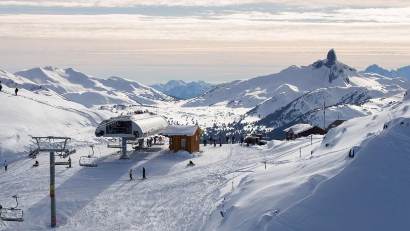 التزلج فى ويسلر