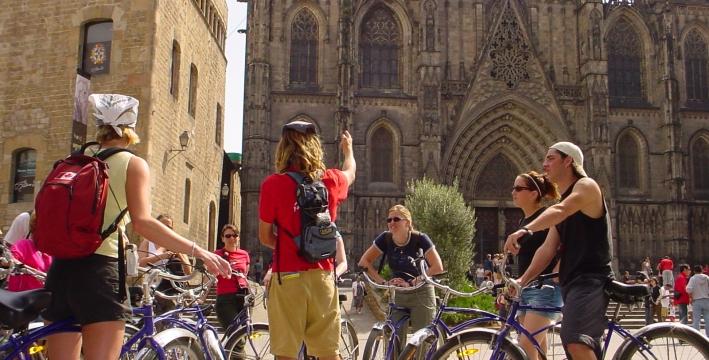 تأجير دراجة فى برشلونة