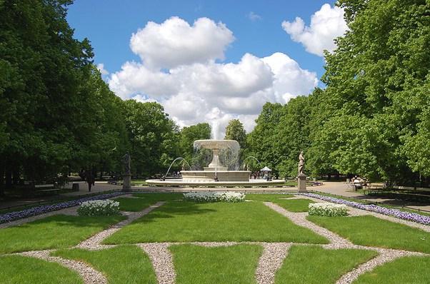 حدائق وارسو
