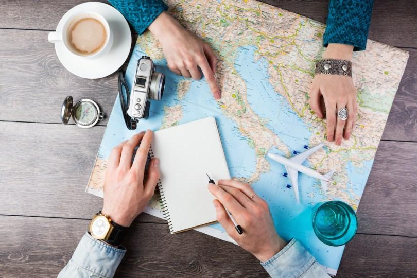 خطة السفر