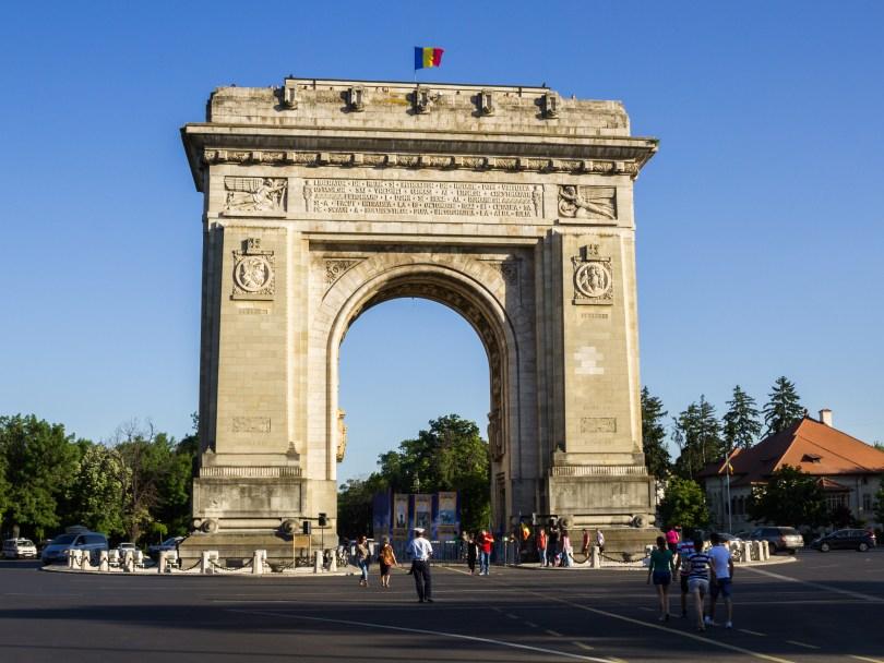 قوس النصر فى رومانيا