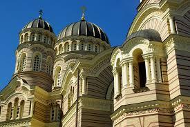 الكنيسة الأرثوذكسية الروسية في ريغا، لاتفيا