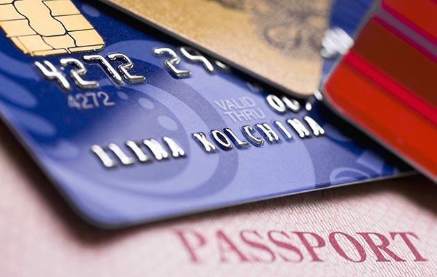 احتفظ ببطاقة ائتمان بالفندق
