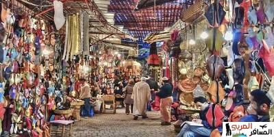 التسوق في مراكش