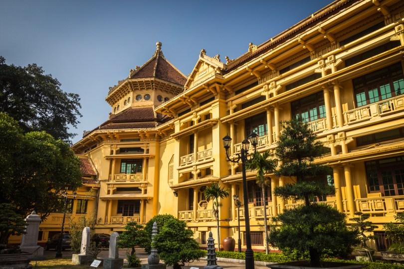 المتحف الوطني للتاريخى لفيتنام