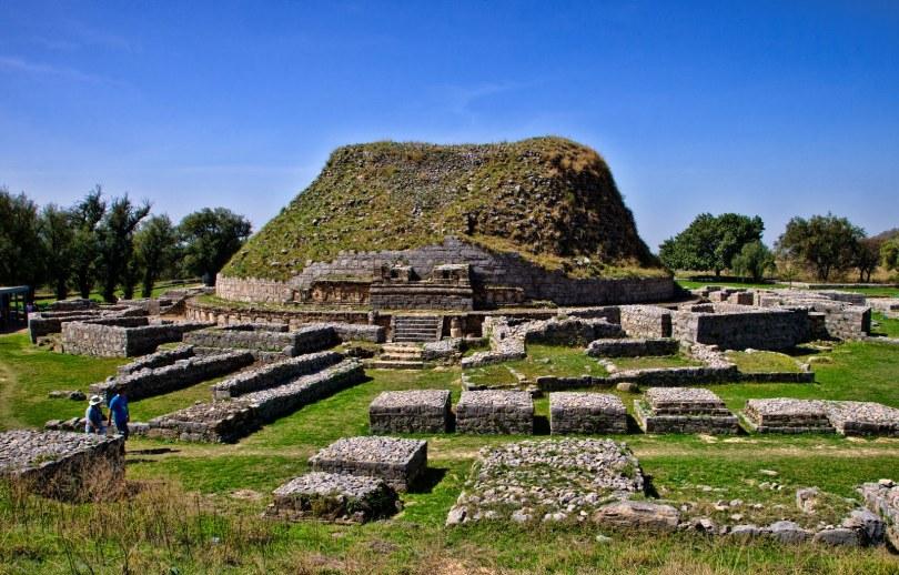 الموقع الأثرى فى تاكسيلا