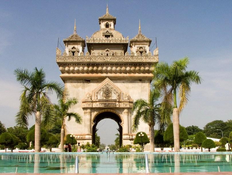 النصب التذكارى Patuxai