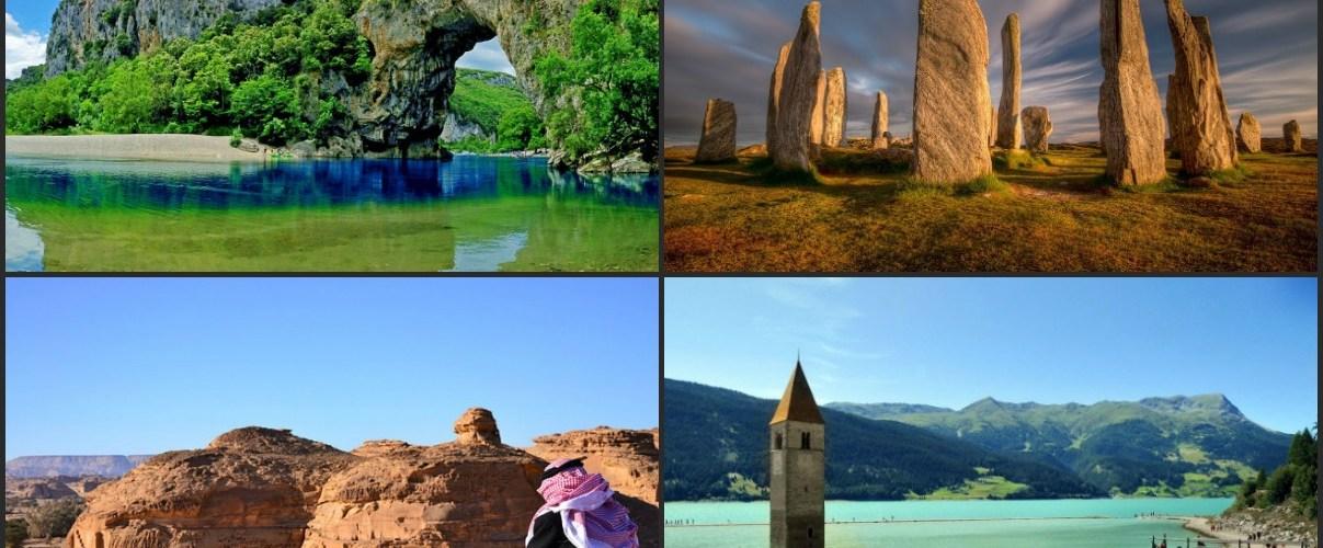 وجهات سياحية غير مشهورة