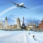 أين يمكنك الاستمتاع بمشاهدة الجليد وممارسة رياضة التزلج خلال عطلة رأس السنة؟