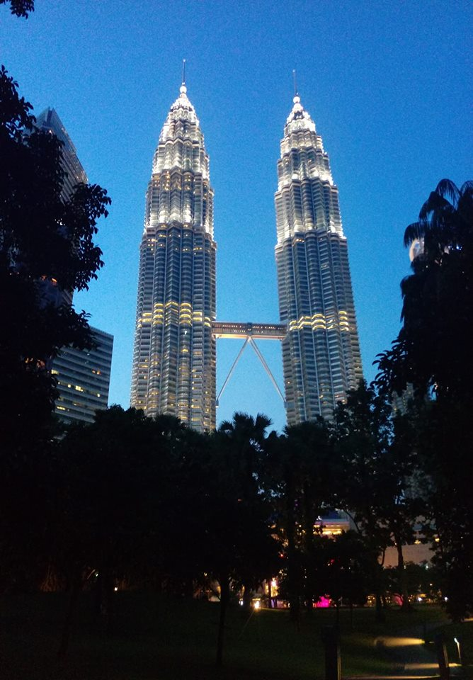 رحلتي إلى ماليزيا
