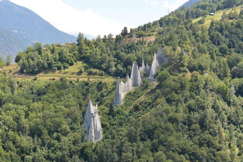 الطبيعة في سويسرا