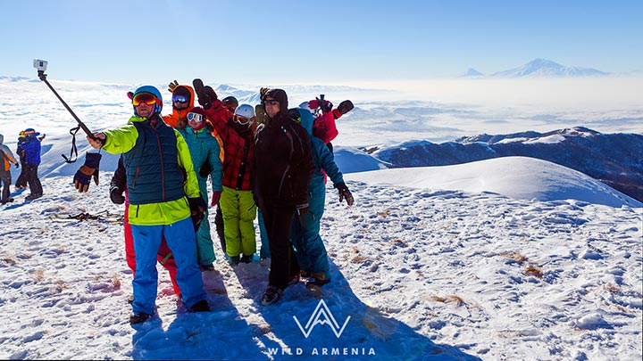 أرمينيا في الشتاء