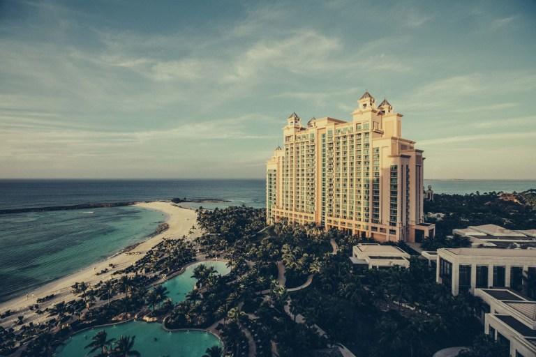 الإقامة في الفنادق