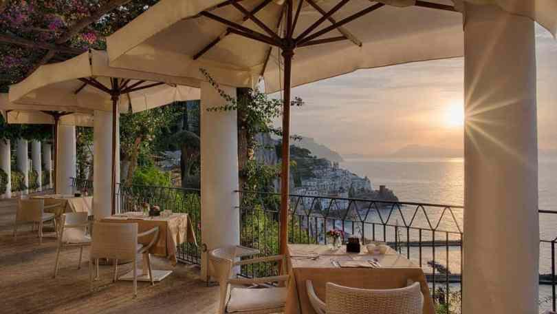 الفنادق الفاخرة في ساحل أمالفي