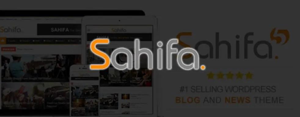 6 – قالب صحيفة Sahifa