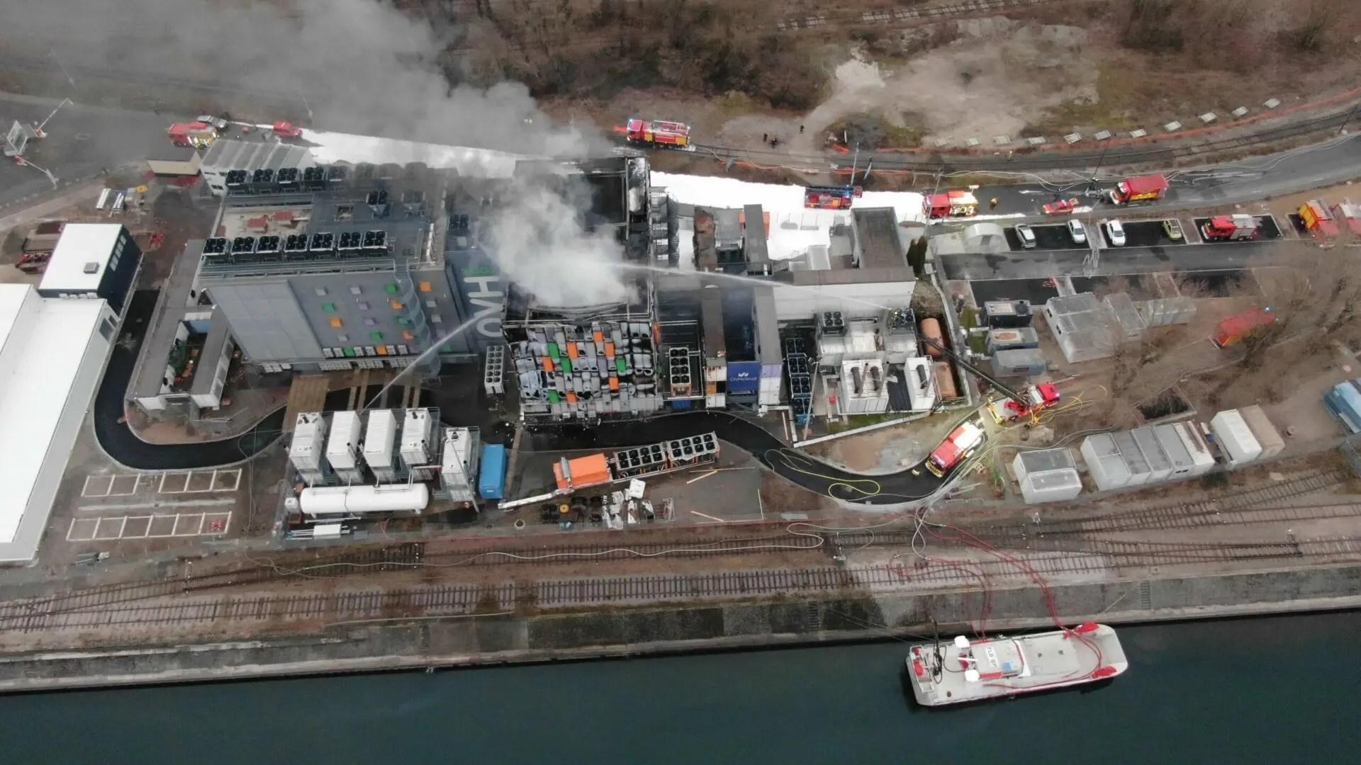 حريق في مركز بيانات OVH بأوروبا يدمّر سيرفراتٍ عديدة أهمها سيرفرات إضافة Imagify