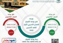 Photo of كلية التقنية للبنين بالقويعية تعلن فتح باب القبول والتسجيل