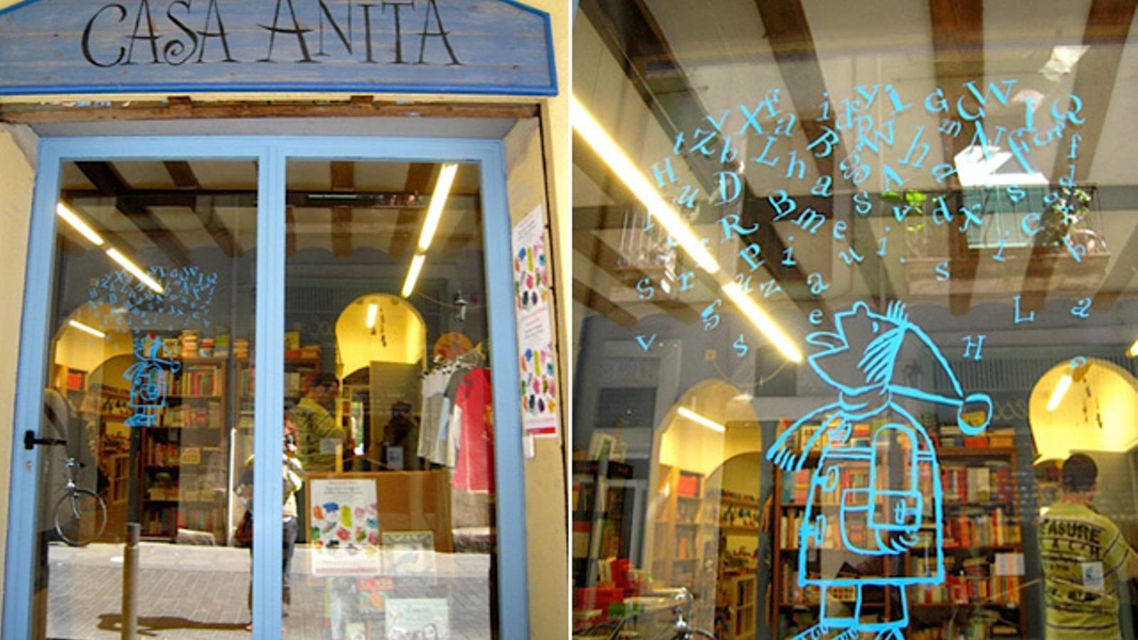 La llibreria gracienca Casa Anita denuncia que s vctima de mobbing immobiliari